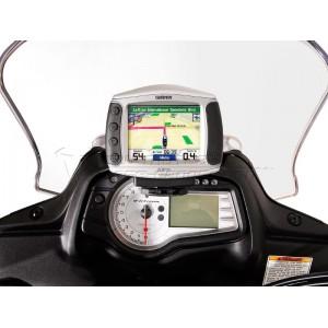 Βάση GPS Sw-Motech Quick-Lock στα όργανα Suzuki DL 650 V-Strom 12-16
