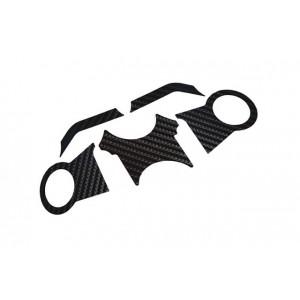 Κάλυμμα πλάκας τιμονιού carbon look BMW R 1200GS/Adv. 04-07