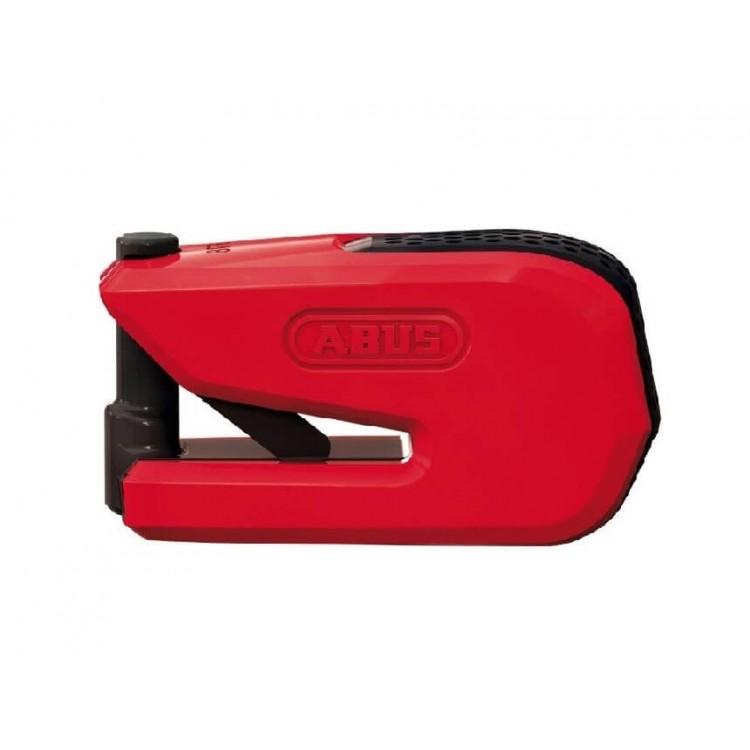 Κλειδαριά δισκόφρενου με συναγερμό ABUS Granit Detecto 8078 SmartX κόκκινη