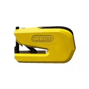 Κλειδαριά δισκόφρενου με συναγερμό ABUS Granit Detecto 8078 SmartX κίτρινη
