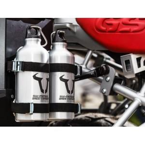 Κιτ στήριξης βάσης μπουκαλιού και 2 μπουκάλια 0,6 lt. SW-Motech