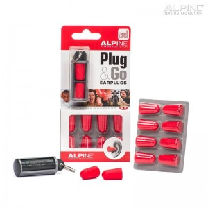 Ωτοασπίδες Alpine Plug & Go