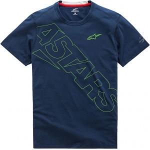 T-shirt Alpinestars Pampalona Ride μπλε
