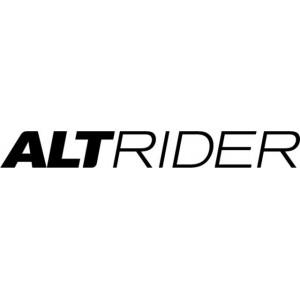 Αυτοκόλλητο λογότυπο AltRider 26 cm μαύρο