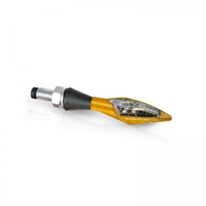 Φλας LED universal Barracuda X-Led B-Lux χρυσό (σετ)
