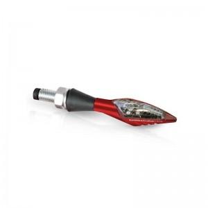 Φλας LED universal Barracuda X-Led B-Lux κόκκινο (σετ)
