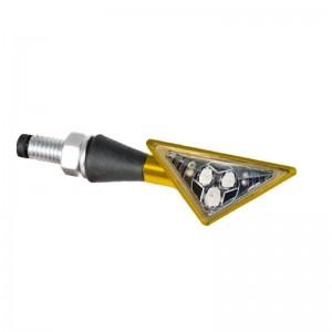 Φλας LED universal Barracuda Z-Led B-Lux χρυσό (σετ)