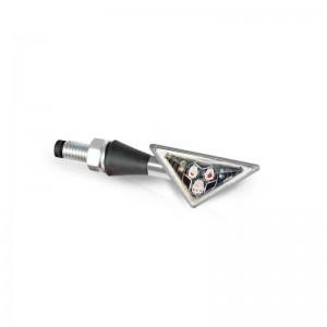 Φλας LED universal Barracuda Z-Led B-Lux ασημί (σετ)