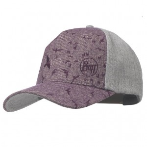 Καπέλο Buff Snapback Zair Shadow μωβ-γκρι