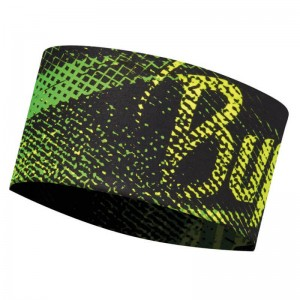 Κορδέλα Buff UV Flash Logo Yellow Fluor