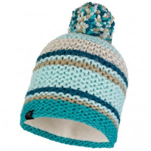 Σκούφος Buff Knitted and Polar Fleece Dorian Aqua