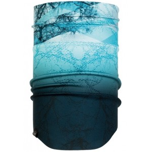 Buff Neckwarmer Windproof Mist Aqua