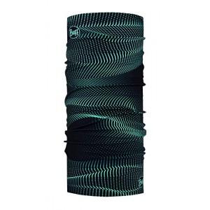 Buff Original Glow Waves μαύρο (μαντήλι λαιμού)