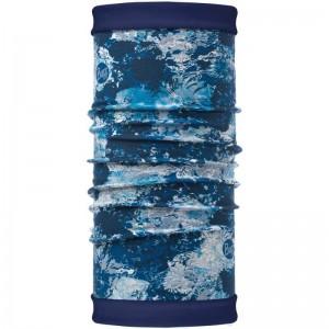 Buff Polar Reversible Winter Garden Blue (μαντήλι λαιμού fleece)