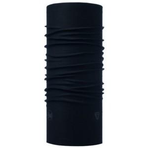 Buff Thermonet Solid Black (μαντήλι λαιμού)
