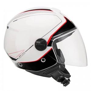 Κράνος CGM 107X Florence Way λευκό κόκκινο