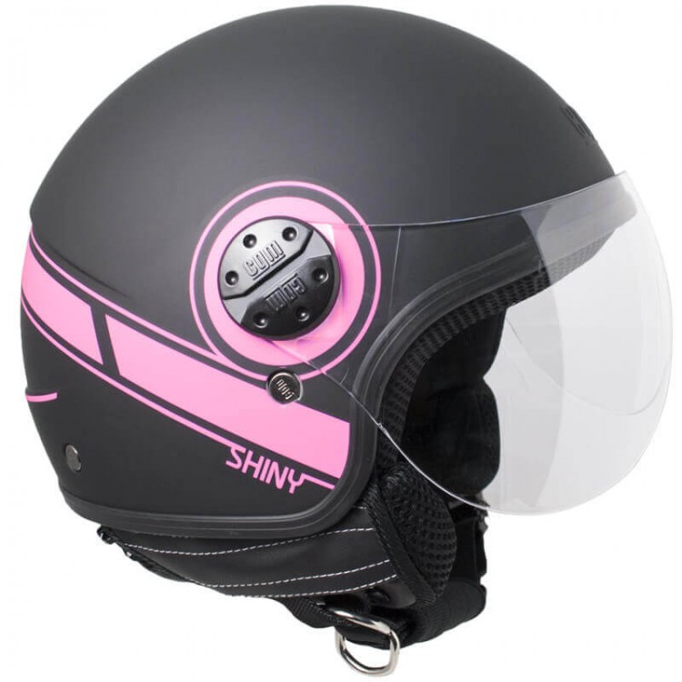 CGM 109S Shiny μαύρο-ροζ ματ
