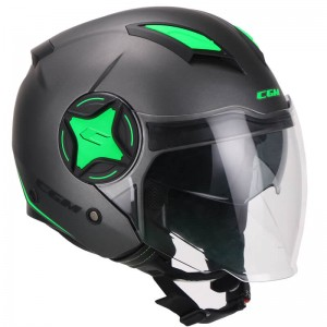 CGM 129X Illinois Sport ανθρακί πράσινο fluo σατινέ