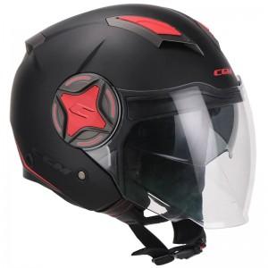 CGM 129X Illinois Sport μαύρο κόκκινο ματ