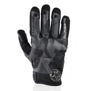 Γάντια Chaft Score καλοκαιρινά μαύρα-γκρι