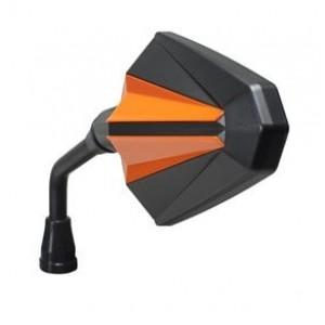 Καθρέπτης universal Chaft Glory μαύρο - πορτοκαλί