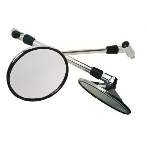 Καθρέπτης Chaft Suzuki Retro χρώμιο