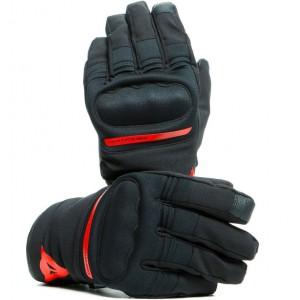 Γάντια Dainese Avila D-Dry® μαύρα-κόκκινα