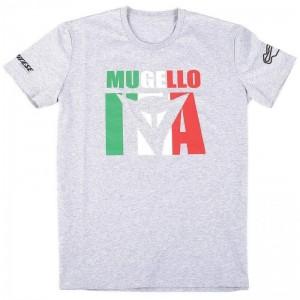 T-shirt Dainese Mugello D1 γκρί