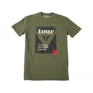 T-shirt Dainese Postcard χακί