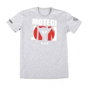 T-shirt Dainese Motegi D1 γκρί