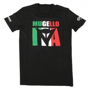 T-shirt Dainese Mugello D1 μαύρο