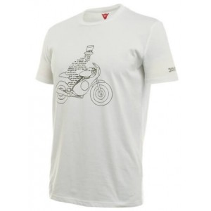 T-Shirt Dainese Speciale λευκό