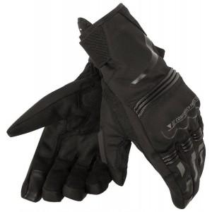 Γάντια Dainese Tempest short D-Dry® μαύρα