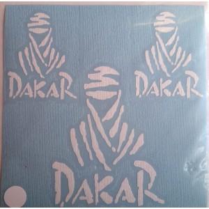 Αυτοκόλλητα Dakar Sticker I λευκό