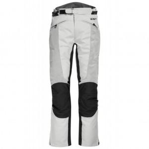 DIFI San Diego γυναικείο καλοκαιρινό παντελόνι ασημί-μαύρο