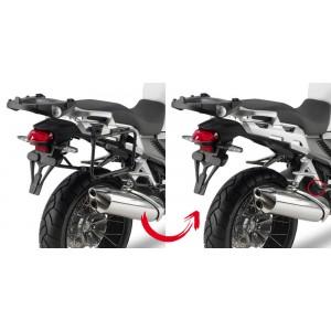 Βάσεις πλαϊνών βαλιτσών rapidlock GIVI V35/Kappa K33 Honda VFR 1200 Crosstourer -15