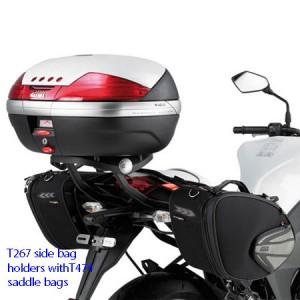 Βάσεις για πλαϊνά σαμάρια Kawasaki Z 1000 10-13