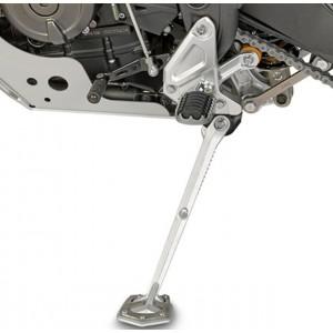 Επέκταση βάσης πλαϊνού σταντ GIVI Yamaha Tenere 700 ασημί
