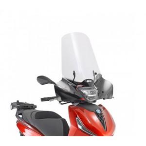 Ζελατίνα GIVI Piaggio Beverly 300-400 21- διάφανη