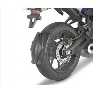 Φτερό - λασπωτήρας (πίσω) RM01 GIVI Honda CB 500 X 16-18 μαύρο ματ