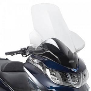 Ζελατίνα GIVI Piaggio X10 125-350-500 διάφανη