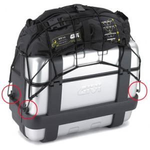 Αναμονές πρόσδεσης για βαλίτσα GIVI Trekker