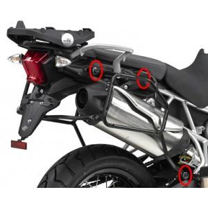 Βάσεις πλαϊνών βαλιτσών (ίσιες) rapid release Triumph Tiger 800/XC/XR -17