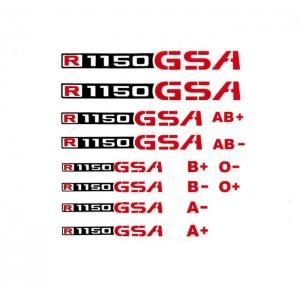 Αυτοκόλλητο R 1150 GS/Adv. & ομάδες αίματος