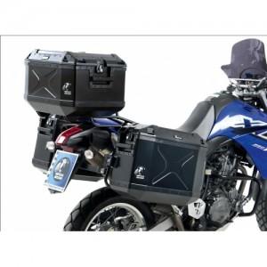 Πλαϊνή βαλίτσα Hepco & Becker Xplorer 30 lt. μαύρη