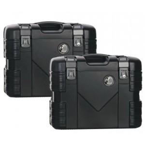 Πλαϊνές βαλίτσες Hepco & Becker Gobi 37 lt. μαύρες (σετ)