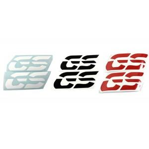 """Αυτοκόλλητα """"GS"""" ύψους 10 εκ. (χρώματα)"""