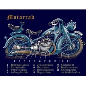 T-shirt Holan Motorrad
