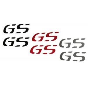 """Αυτοκόλλητα """"GS"""" ύψους 2,5 εκ. (χρώματα)"""