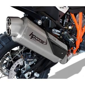 Τελικό εξάτμισης HP Corse 4-Track R KTM 1290 Super Adventure S/T/R ανοξείδωτο ατσάλι